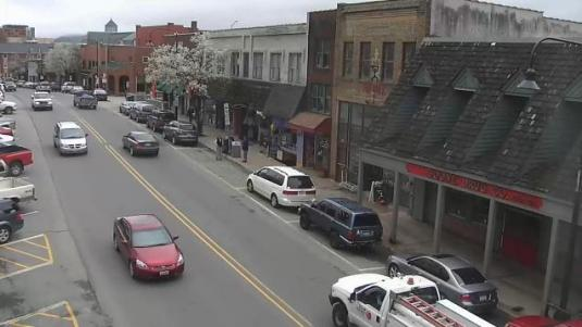 Boone Downtown Live Streaming King Street Webcam Blue Ridge Mountains NC