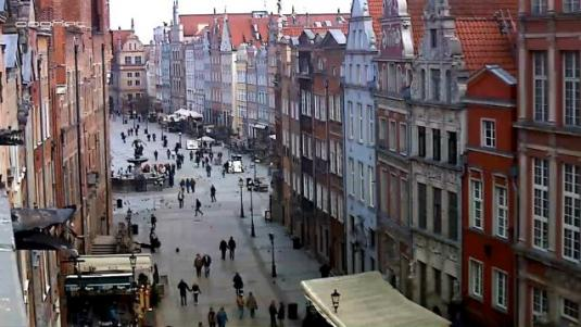 Gdansk City Centre Streaming HD Weather Web Cam Poland
