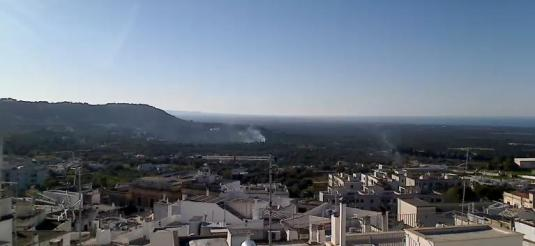 Ostuni City Live Panoramic Weather Webcam Brindisi Italy
