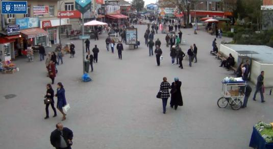 Osmangazi Square Live Bursa Webcam Northwestern Turkey