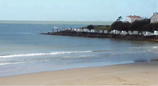 Pontaillac Beach Live Weather Webcam Royan Seaside Resort France