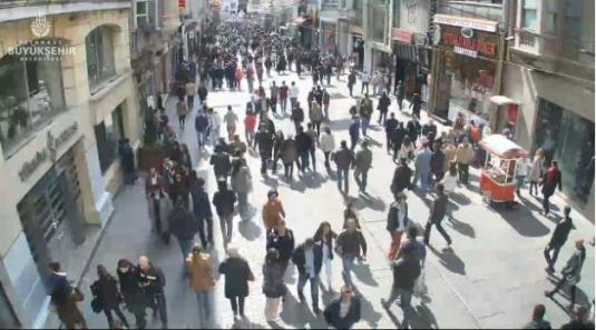 Istanbul Webcam Live İstiklal Caddesi People Watching Cam Istanbul Turkey