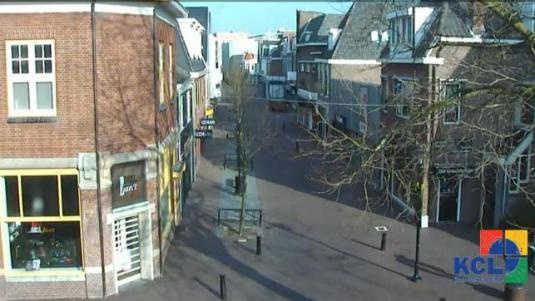 Lisse Town Centre Live Shopping Webcam South Holland Netherlands