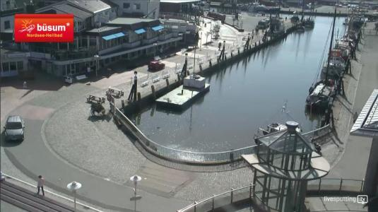 Büsum Seaside Holiday Resort Harbour weather Webcam Schleswig-Holstein Germany