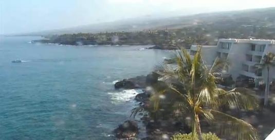 Keauhou Bay Kona Resort Weather Webcam Big Island of Hawaii