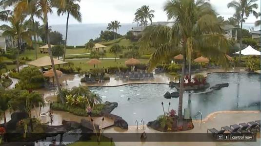 The Westin Princeville Ocean Resort Swimming Pool Webcam Kauai Island