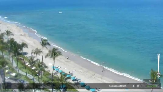 Kaanapali Beach Weather Webcam Westin Maui Resort Maui Hawaii