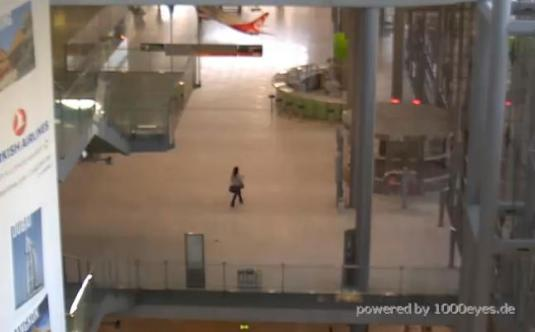 Cologne Bonn Airport Indoor Terminal Airport Webcam Cologne Germany