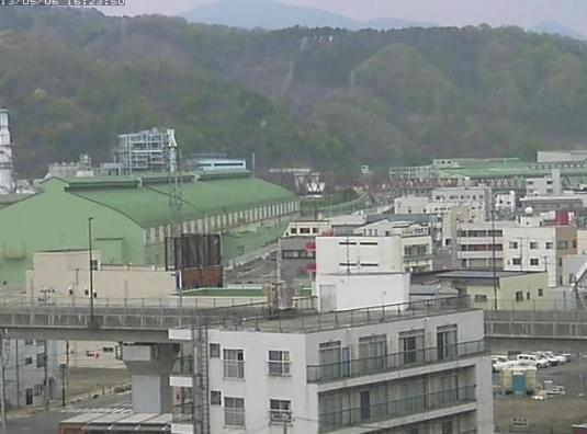 Kamaishi City Live Construction Webcam  Sanriku Rias Coast Japan