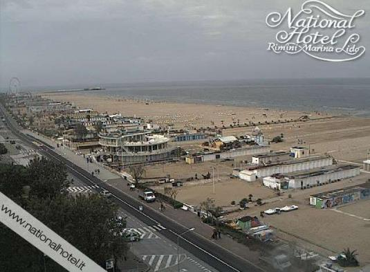 Rimini Holiday Resort Beach Weather Web Cam Italy