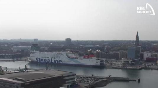 City of Kiel Live Streaming Harbour Weather Webcam North Germany