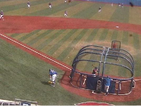Kansas Jayhawks College Baseball Hoglund Ballpark Live Controllable Webcam