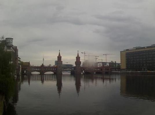 Oberbaum Bridge Live Berlin River Spree Webcam Berlin Germany