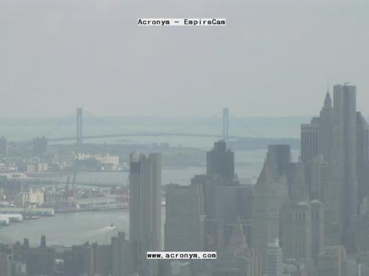 Empire State Building Live Streaming Virtual Camera Tour New York City New York