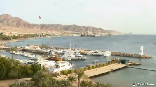 Webcam For The Port Of Aqaba