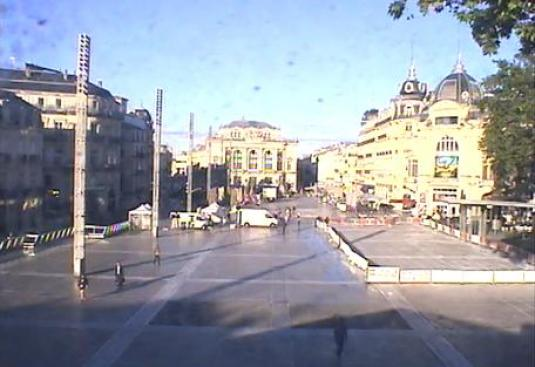Montpellier City Centre Live Streaming Weather Cam South of France