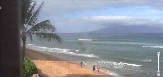 Kaanapali Beach Holiday Resort Weather Webcam Maui County Hawaii