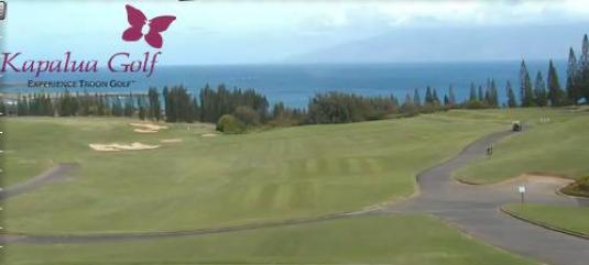 Plantation Golf Course Live Weather Golf Cam Kapalua Holiday Resort Maui Island Hawaii