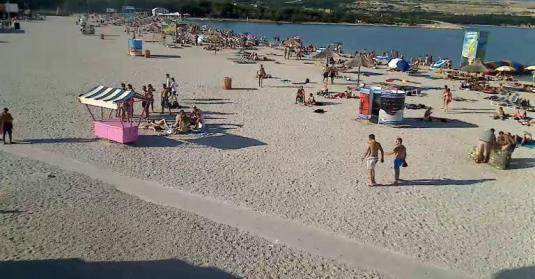 Zrce Beach Live Weather Holiday Cam Island of Pag Croatia