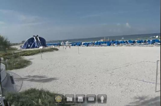 St Pete Beach Live Streaming Beach Weather Webcam Florida