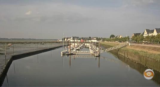 Le Crotoy Beach Weather Marina Webcam Northern France
