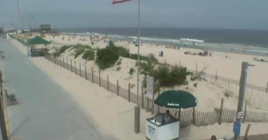 Seaside Park Live Beach Weather Web Cam New Jersey