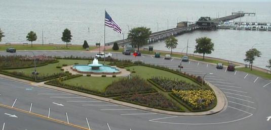 Fairhope Pier Live Mobile Bay Weather Webcam Fairhope Alabama