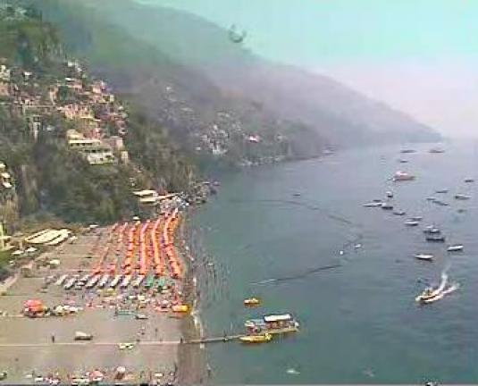 Positano Live Beach Weather Webcam Amalfi Coast Italy