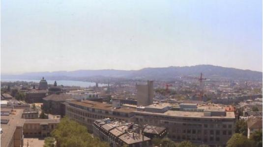 Zurich City Centre Live Panorama Weather Webcam Switzerland