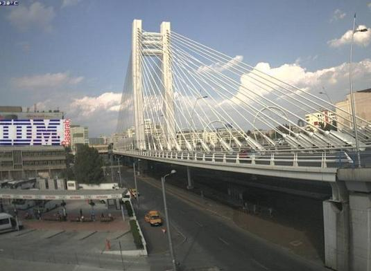 Basarab Bridge Live Traffic Weather Webcam Budapest Romania
