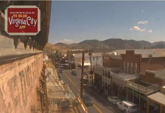 Virginia City Downtown Streaming Webcam Nevada