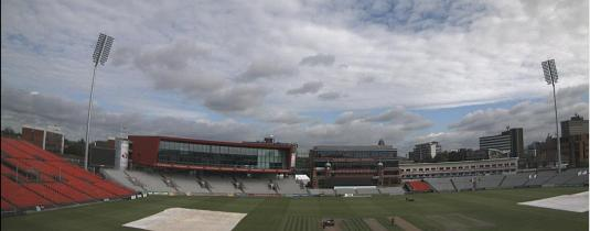 Old Trafford Cricket Ground Weather Webcam Manchester England