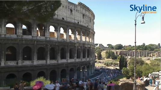 Colosseum Live Streaming Roman Forum Webcam Rome