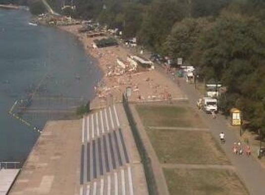 Ada Ciganlija Live Beach Weather Controllable Web Cam Belgrade Serbia