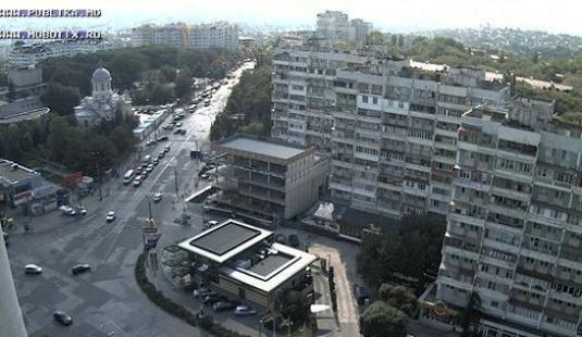 Chisinau City Live Traffic Weather Webcam Chisinau Moldovia