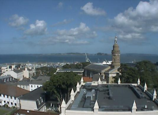 Saint Peter Port Live Weather Web cam Guernsey Channel Islands