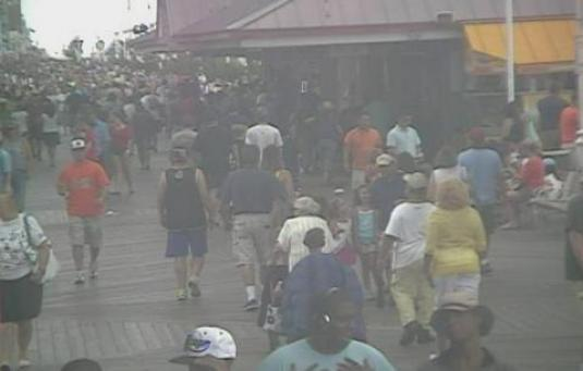 Ocean City Boardwalk People Watching Webcam Worcester County Maryland
