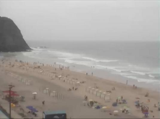 Praia Grande Beach Live Surfing Weather Cam Lisbon Portugal