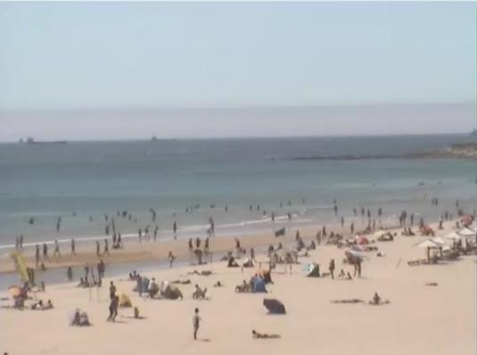 Praia de Carcavelos Beach Surf Weather Web Cam Carcavelos Portugal