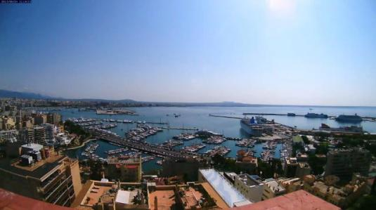 Palma de Mallorca Bay Live Streaming Weather Webcam Mallorca Spain