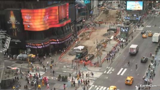 Live Times Square NYC Big Apple Webcast HD Webcam New York City