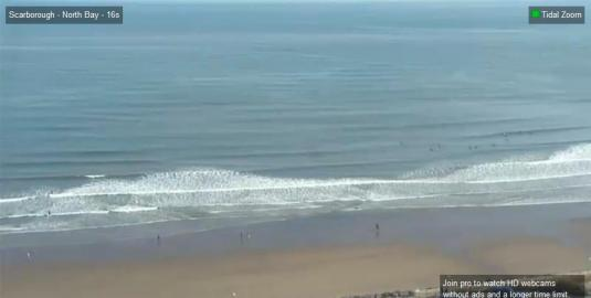 Scarborough North Bay Surfing Beach Weather Webcam