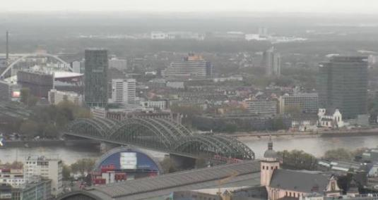 Cologne City Centre Panorama Streaming Webcam Koln Germany