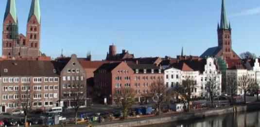 City of Lübeck Live Streaming City Centre Weather Webcam Lubeck Northern Germany