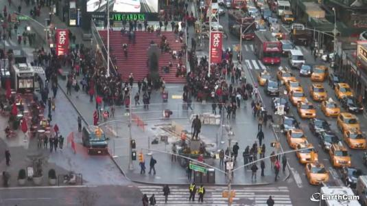 The Crossroads of the World Live Times Square Street Level Streaming Webcam Times Square NYC