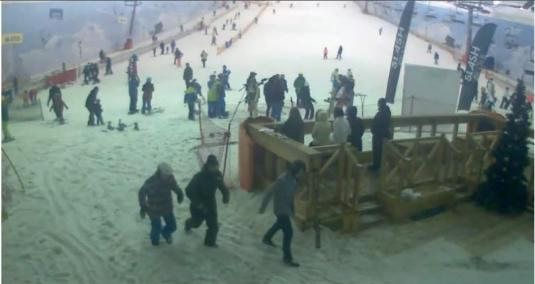 Snej.com Indoor Skiing Centre Webcam Moscow Russia
