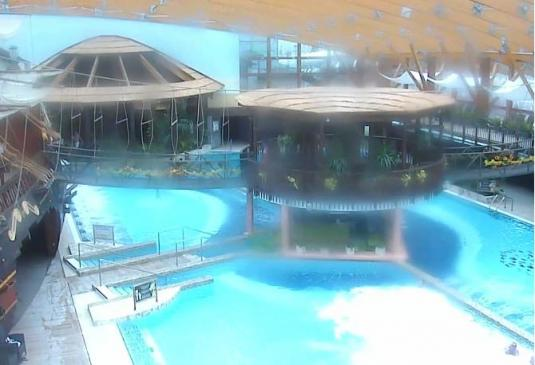 Tatralandia Aquapark Live Tropical Paradise Webcam Slovakia
