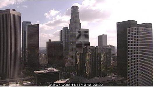 Live Downtown Los Angeles Weather Webcam Los Angeles California