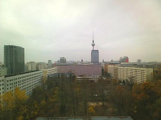Berlin City Centre Fernsehturm  Live Weather Webcam Berlin Germany