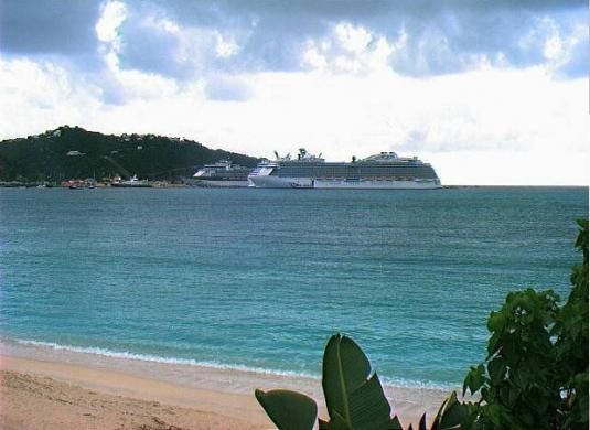 Philipsburg Cruise Ships Port Weather Cam Sint Maarten Saint Martin island Caribbean